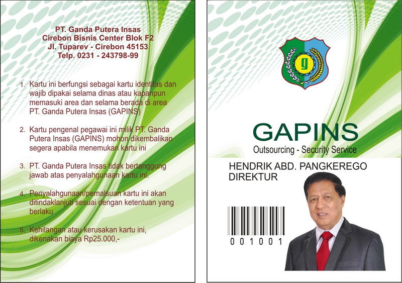 Our Newest ID CARD
